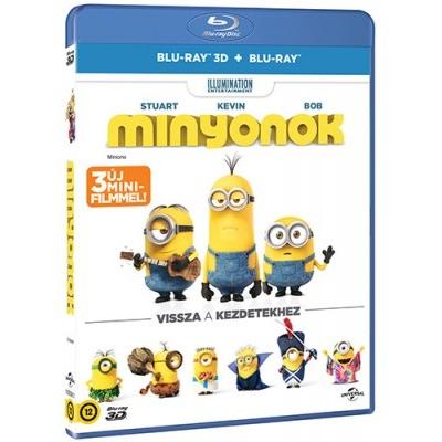 Minyonok (3DBR+BR)