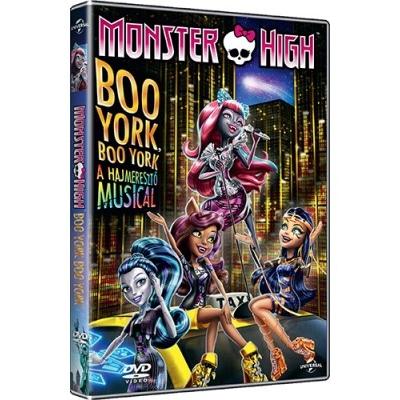 Monster High: Boo York, Boo York DVD