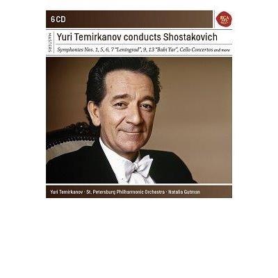Yuri Termirkanov Conducts Shostakovitch 6CD