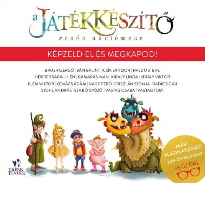 A JÁTÉKKÉSZÍTŐ - ZENÉS AKCIÓMESE CD (DELUXE EDITION)