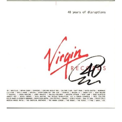 VIRGIN RECORDS:40 YEARS OF DISRUPTIONS (3 CD)