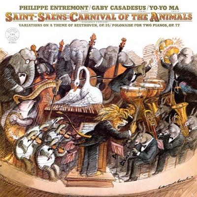 SAINT-SAENS: CARNIVAL OF THE ANIMALS CD