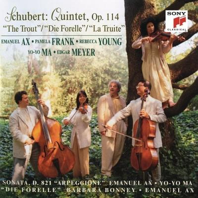 SCHUBERT: TROUT QUINTET; ARPEGGIONE SONATA; DIE FORELLE CD