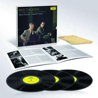 Ludwig van Beethoven: Cellosonaten Nr.1-5 (180g)3 Vinyl