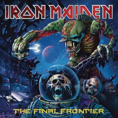IRON MAIDEN - THE FINAL FRONTIER (2015, REMASTER DIGIBOOK)
