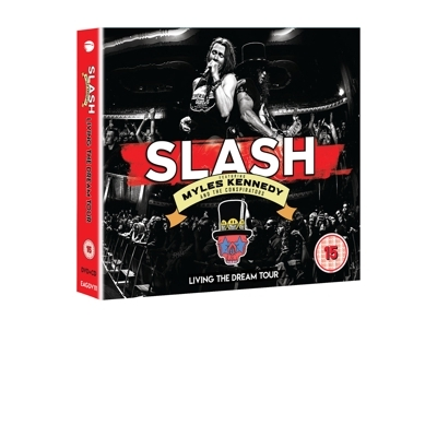 LIVING THE DREAM TOUR DVD+2CD