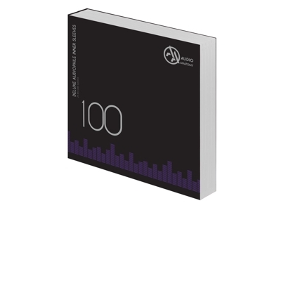 "100 db 12"" DELUXE AUDIOPHILE ANTISTATIC VINYL BELSO BORÍTÓ FEHÉR -90 Gramm"