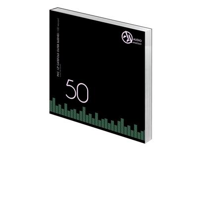 """50 db 12"""" PVC GATEFOLD KÜLSO VINYLBORÍTÓ (100 micron)"""