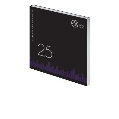 "25 db 12"" DELUXE AUDIOPHILE ANTISTATIC VINYL BELSO BORÍTÓ KRÉM - 70 GRAMM"