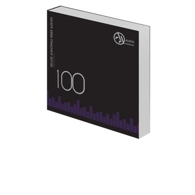 "100 db 12"" DELUXE AUDIOPHILE ANTISTATIC VINYL BELSO BORÍTÓ KRÉM - 70 GRAMM"