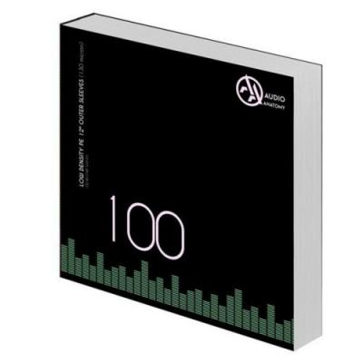 """100 db 12"""" PE LOW DENSITY KÜLSO VINYLBORÍTÓ (130 Micron)"""