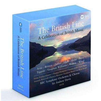 The British Line - A Celebration of British Music 16CD