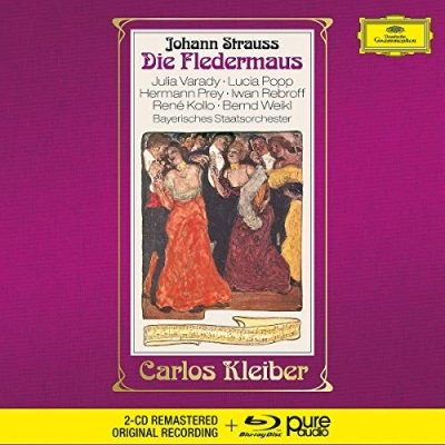Johann Strauss II (1825-1899)-Die Fledermaus (Blu-Ray Audio + 2CD)(A denevér)