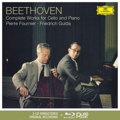 Ludwig van Beethoven (1770-1827) Cellosonaten Nr.1-5 (Blu-Ray Audio + 2CD)