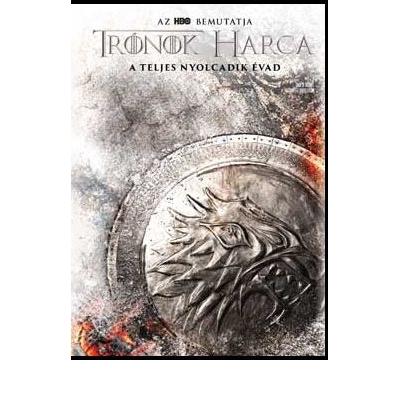 Trónok harca 8. évad (4 DVD) Stark O-ringgel