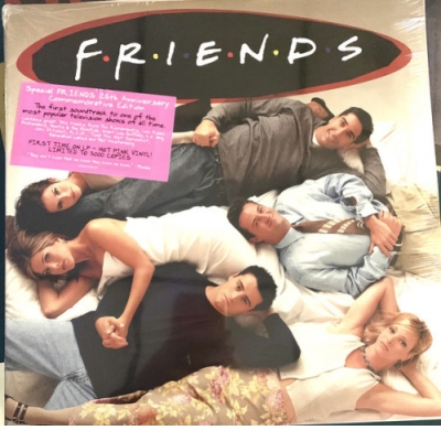 "FRIENDS (140 GR 12"" COLOUR-LTD.2LP)OST"