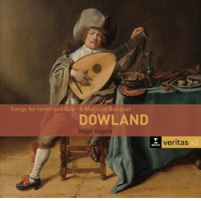 DOWLAND, CACCINI - DALOK (Dowland: Songs for tenor and lute · A Musicall Banquet) 2CD