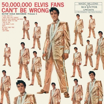 50,000,000 Elvis Fans Can't Be Wrong Vol. 2 (LP)