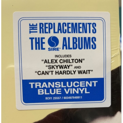"PLEASED TO MEET ME (140 GR 12"" BLUE-LTD.) LP"