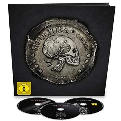 QUADRA -2CD+Blu-Ray Earbook