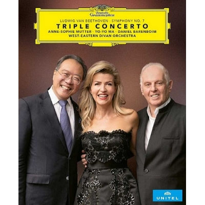 BEETHOVEN Triple Concerto in C Major, Op. 56  Symphony No. 7 in A Major, Op. 92 Blu-Ray