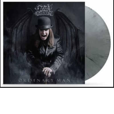 Ordinary Man (black+ white + grey marbled) [Vinyl]