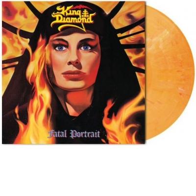 Fatal Portrait Melon Orange Marbled LP