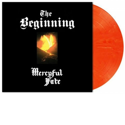 The Beginning Orange White Marbled LP