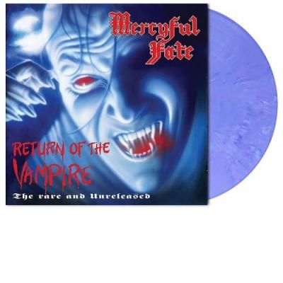 Return Of The Vampire Violet Blue Marbled LP