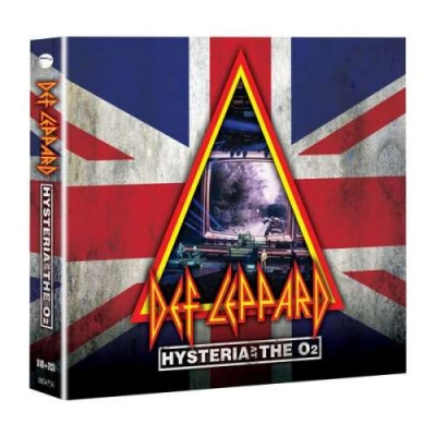 HYSTERIA AT THE O2 (2CD+DVD)