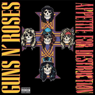 Appetite For Destruction – LP,  Reissue, Remastered, 180 gr