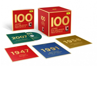 SALZBURG FESTIVAL 100 58 CD