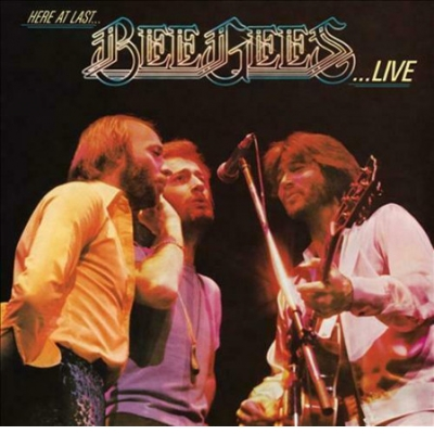 HERE AT LAST BEE GEES LIVE 2LP
