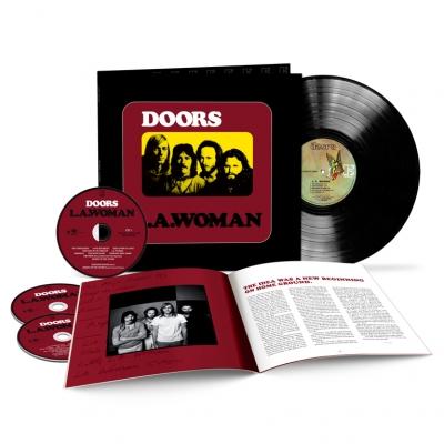 """L.A. WOMAN (180 GR 12"""" LP/3 CD-LTD.)"""