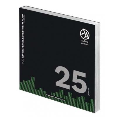"""25X 12"""" PVC KÜLSŐ VINYLBORÍTÓ (100 micron) - BEHAJTHATÓ FÜLLEL"""
