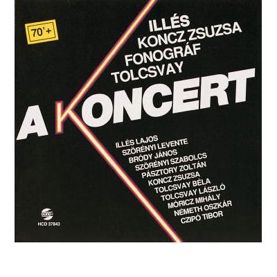 A KONCERT CD
