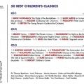 50 Best Children'S Classics 3CD