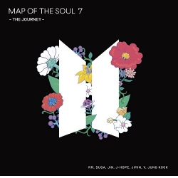 MAP OF THE SOUL:7~THE JOURNEY  CD+Fotóalbum