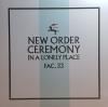 """CEREMONY (VERSION 2) 180 GR 12"""" LPS-LTD.(Maxi single) LP"""