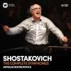 SOSZTAKOVICS: ÖSSZES SZIMFÓNIA. (Dmitri Schostakowitsch (1906-1975) Symphonien Nr.1-15) 12CD